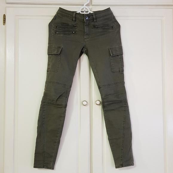 witchery Pants - Moss green Witchery Pants Skinny